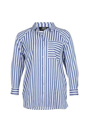 House of Bilocca Gestreept overhemd met borstzakje