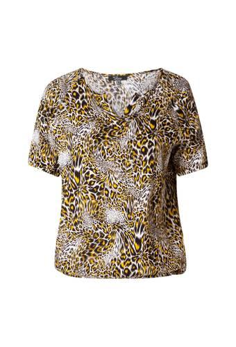House of Bilocca Top met leopard print