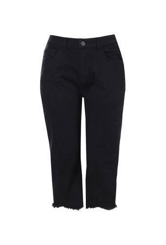 House of Bilocca Jeans met wijde pijpen en onafgewerkte zoom