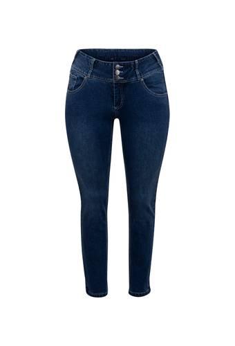 House of Bilocca Katoenen jeans met een comfortabele hoge taille