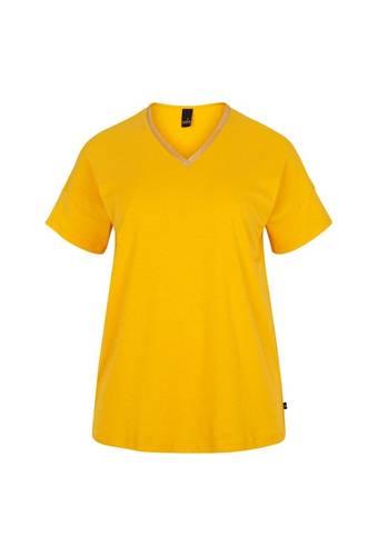 House of Bilocca Effen gekleurde t-shirt