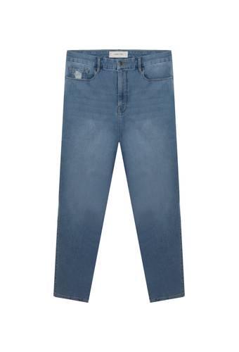 House of Bilocca High-waist skinny jeans met stretch