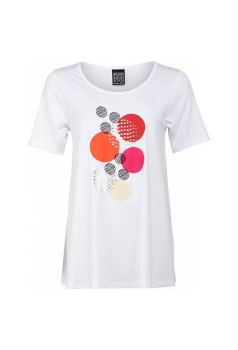 House of Bilocca T-shirt met prachtige borduurwerk