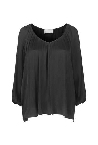 House of Bilocca Soepele blouse geplisseerde zijde